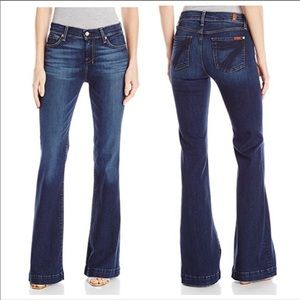 7 for all mankind 7FAM NWT dojo Wide Leg Jeans